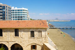 Larnaka Medieval Castle (Fort). Stock Image