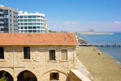 Larnaka Medieval Castle (Fort). Stock Image