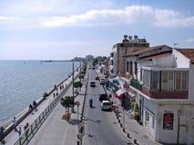 Larnaka-Weg Stockbild