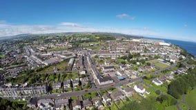 Larne Co Antrim Irlanda del Nord fotografia stock libera da diritti