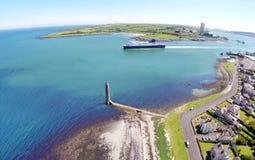 Larne Co Antrim Irlanda del Nord fotografie stock libere da diritti