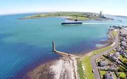 Larne Co Antrim Nordirland lizenzfreie stockfotos