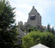 Larochette Luxembourg stad, Luxembourg Royaltyfria Bilder