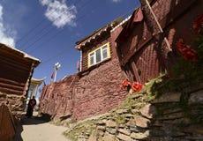 Larong Wuming s buddistisk högskola i Seda Arkivbilder