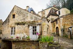 Laroquegageac, Frankrike Royaltyfria Foton