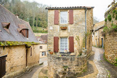 Laroquegageac, Frankrike Royaltyfria Bilder