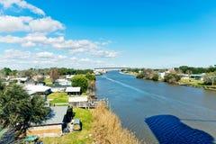 Larose Louisiana arkivfoto