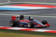 Larrousse F1 i Magny Cours Arkivfoton