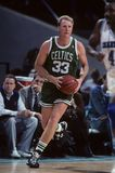 Larry Bird Boston celci fotografia stock
