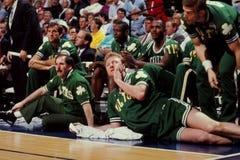 Larry Bird, Celtics de Boston photo libre de droits
