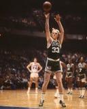 Larry Bird, Celtics de Boston Fotografía de archivo