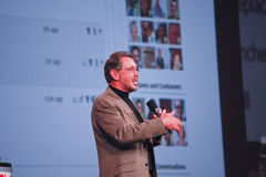 Larry Ellison makes keynote at Oracle OpenWorld Stock Photos