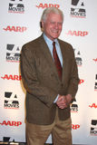 """Larry Hagman. LOS ANGELES - FEB 7:  Larry Hagman arrives at the 2011 AARP """"Movies for Grownups"""" Gala  at Regent Beverly Wilshire Hotel on February 7, 2011 in Stock Photos"""