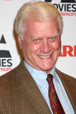 """Larry Hagman. LOS ANGELES - FEB 7:  Larry Hagman arrives at the 2011 AARP """"Movies for Grownups"""" Gala  at Regent Beverly Wilshire Hotel on February 7, 2011 in Royalty Free Stock Images"""