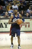 Larry Hughes With The Ball Stock Photo