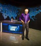 Larry King image libre de droits