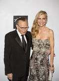 Larry King and Shawn King stock images