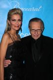 Larry King, Shawn Southwick Royalty Free Stock Photography