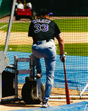 Larry Walker Colorado Rockies Immagini Stock