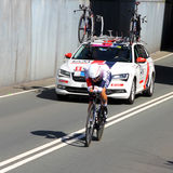 Larry Warbasse, IAM Cycling Stock Image