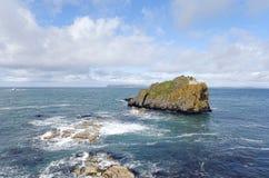 Larrybane Łup, Co. Antrim, Irlandia Pólnocna Zdjęcie Stock