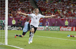 Lars Bender of Germany Stock Photo