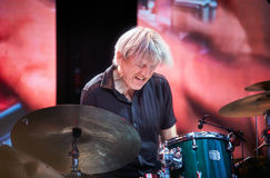 Lars Danielsson stellen Programm Liberetto 2 im Quartettformat dar Stockfotos