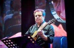 Lars Danielsson stellen Programm Liberetto 2 im Quartettformat dar Lizenzfreie Stockfotos