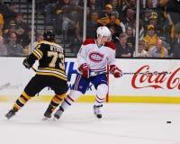 Lars Eller Montreal Canadiens Foto de Stock Royalty Free