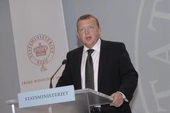 LARS LØKE PM RASMUSSEN_DANISH Stock Foto