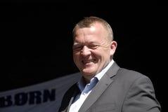 LARS LOKKE RASMUSSEN_DANISH总理 免版税库存照片