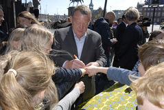 LARS LOKKE RASMUSSEN_DANISH总理 免版税图库摄影