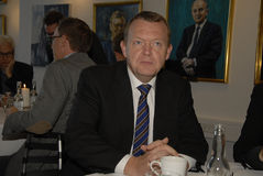 LARS LOKKE RASMUSSEN_PM AND PARTY CHAIRMAN Stock Photo