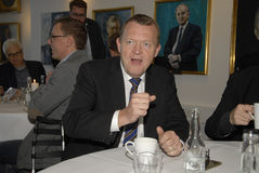 LARS LOKKE RASMUSSEN_PM AND PARTY CHAIRMAN Stock Image