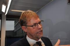 LARS - PETER SØBYE CEO COWI KOPENHAGEN DENEMARKEN royalty-vrije stock foto
