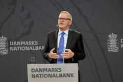 LARS RODHE VD & ALLMÄN DIREKTÖR FÖR NATIONBANKEN royaltyfri foto