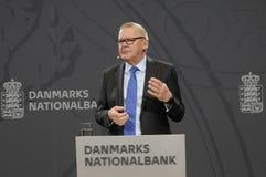 LARS RODHE VD & ALLMÄN DIREKTÖR FÖR NATIONBANKEN royaltyfri fotografi