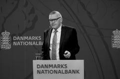 LARS RODHE VD & ALLMÄN DIREKTÖR FÖR NATIONBANKEN fotografering för bildbyråer
