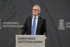 LARS RODHE VD & ALLMÄN DIREKTÖR FÖR NATIONBANKEN royaltyfria bilder