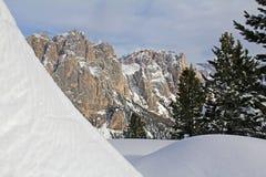 Larsec Rocks in winter Stock Photography