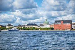Larsensen Plads i Köpenhamn Royaltyfria Foton
