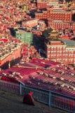 Larung Gar Sertar Sichuan China 2015 Royaltyfri Fotografi