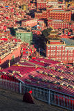 Larung Gar Sertar Sichuan China 2015 Royalty Free Stock Photography
