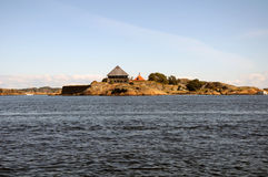 Larvik-Landschaft Stockbild