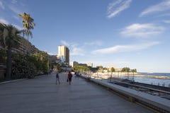 Larvotto beach, Monaco Royalty Free Stock Image