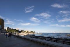 Larvotto beach, Monaco Royalty Free Stock Images