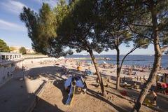 Larvotto beach, Monaco Royalty Free Stock Photo