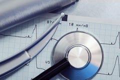 Laryngoscope and stethoscope Royalty Free Stock Photography