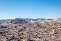 Lasów Salinas teren księżyc dolina - Atacama pustynia, Chile Fotografia Stock