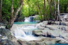 lasów tropikalnych wodospadu Zdjęcia Stock